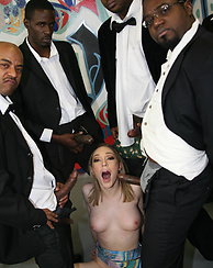 Lily LaBeau Interracial BlowBang