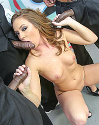Maddy Oreilly Interracial BlowBang