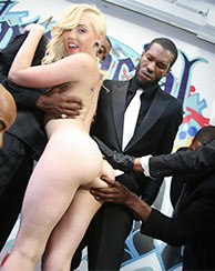 Miley May Interracial Bukkake